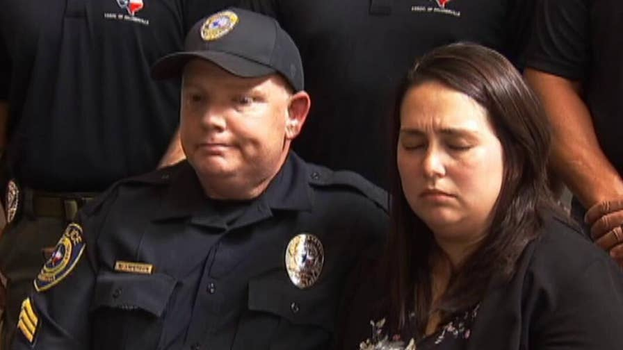 Sergeant Kurk Anderson of the Pflugerville police department is searching for a bone marrow donor that could save his daughter, who is suffering from an autoimmune disease.