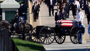 John McCain buried at Naval Academy next to lifelong friend