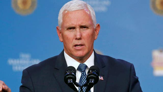Why does the left target Mike Pence's faith?