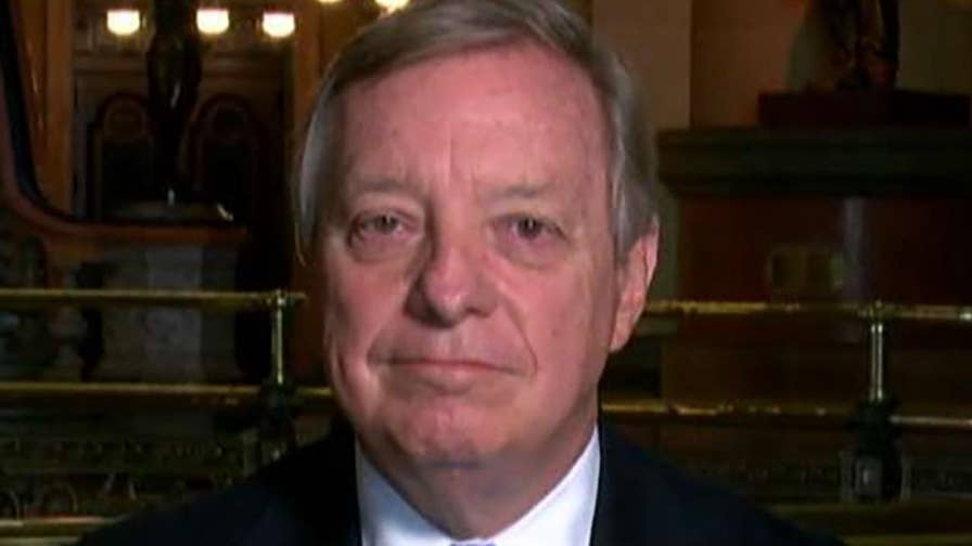 Democratic member of the Senate Judiciary Committee Dick Durbin on questions he has for Judge Brett Kavanaugh.