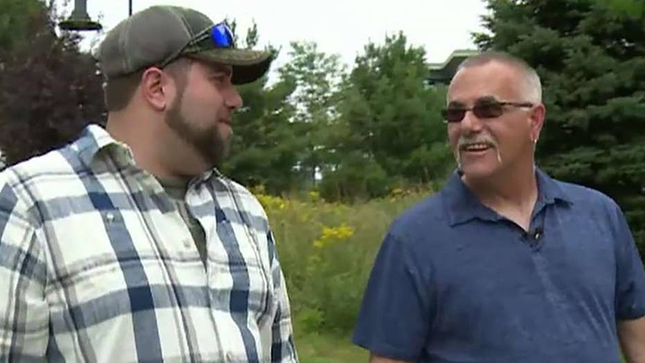 Co-workers learn they're father and son