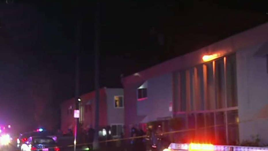 Shooting erupts at San Bernardino apartment complex