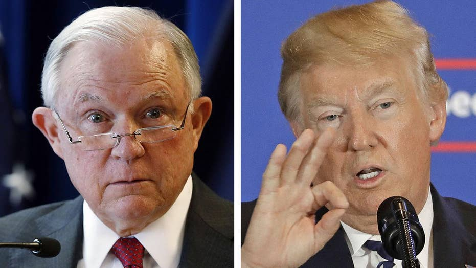 Trump tweets new attacks on Sessions