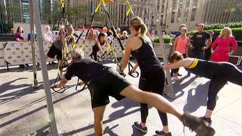 Former Navy SEAL Randy Hetrick shares his new workout invention.