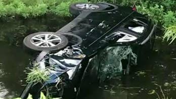 Brother and sister worked together to flip an overturned vehicle to save a couple and their baby.