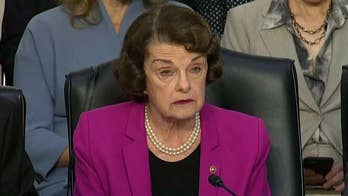 Delivering her opening statement at the Brett Kavanaugh Supreme Court confirmation hearing, Sen. Dianne Feinstein calls for more time for lawmakers to prepare questions.