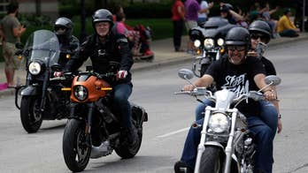 President Trump calls for a boycott after the iconic motorcycle company moved production of some motorcycles overseas.
