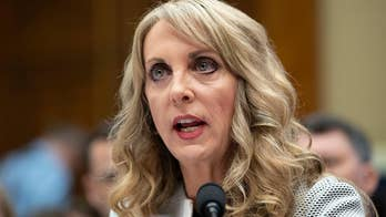 Athletes blamed Kerry Perry for mishandling the fallout from the sexual abuse scandal by former team doctor Larry Nassar.