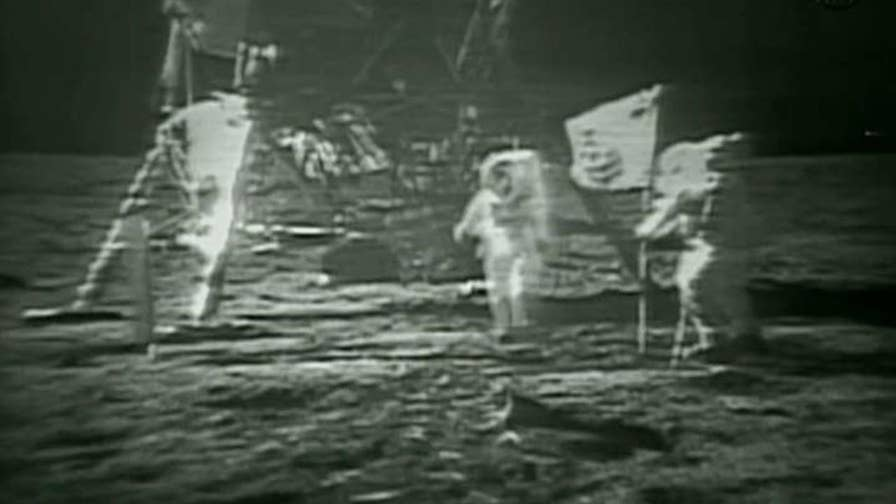 Movie slammed for omitting the flag planting on the moon. Is Hollywood tearing down American history and values?