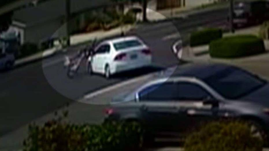 Hit-and-run driver collides with children riding bikes