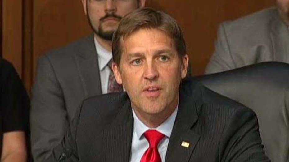Sen. Ben Sasse unloads on Congress at Kavanaugh hearing