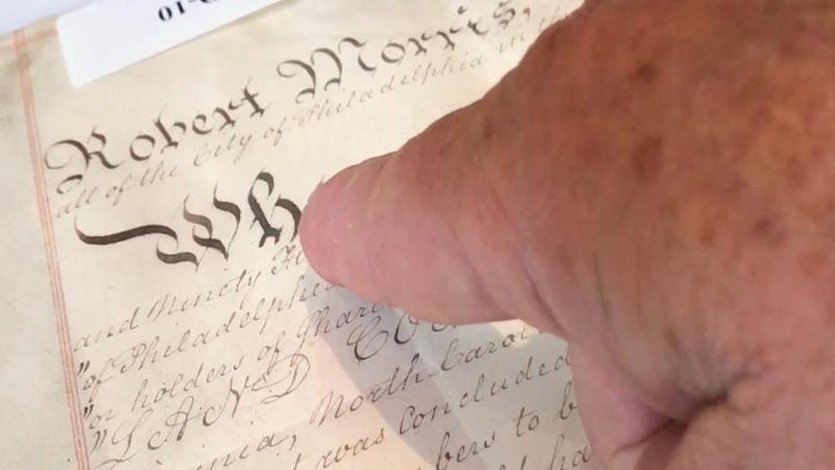 Original White House deed up for sale