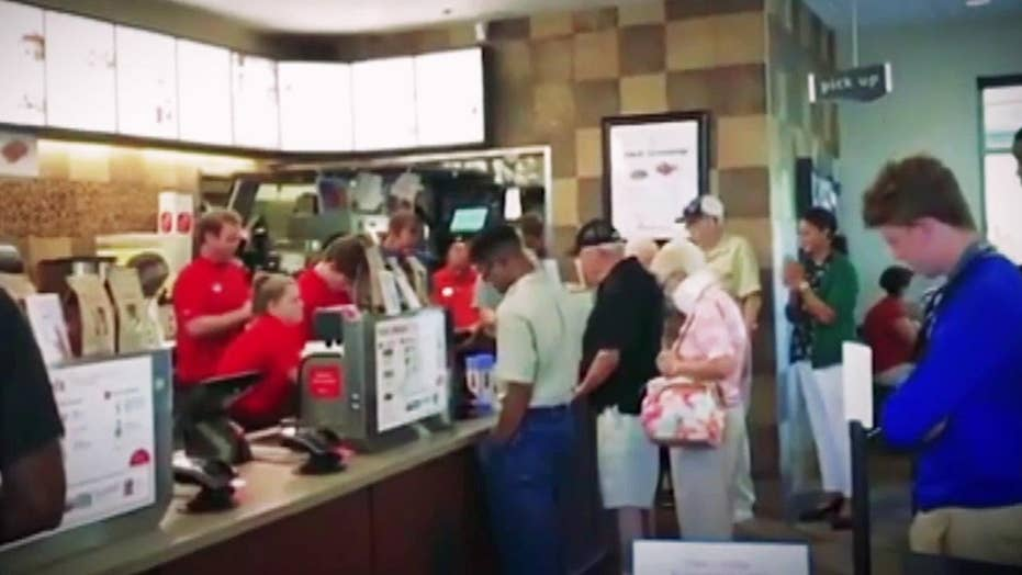 Chick-fil-A staff, patrons pray for employee with cancer