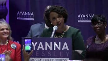 Ayanna Pressley upsets Michael Capuano in Massachusetts House primary; Jessica Tarlov and Kayleigh McEnay react on 'Fox & Friends.'