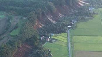 Earthquakes slam Japan 20 minutes apart, days after deadly typhoon.