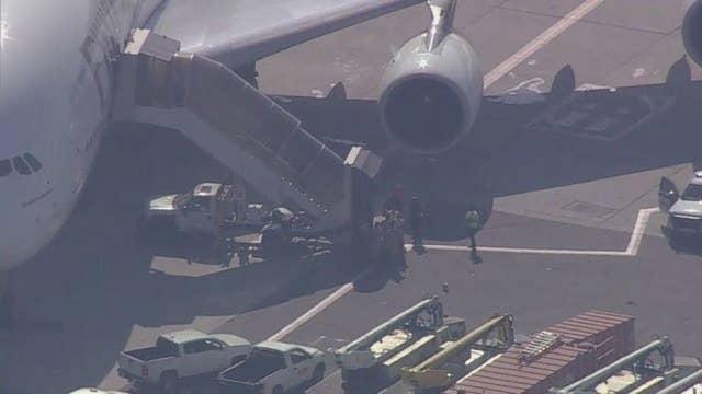 CDC investigates an Emirates plane carrying 100 sick passengers