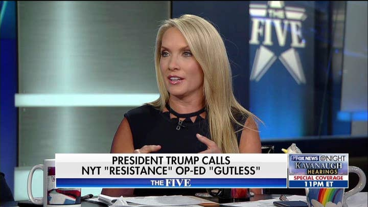 Perino Calls Out WH Official Who Authored NYT Op-Ed Against Trump