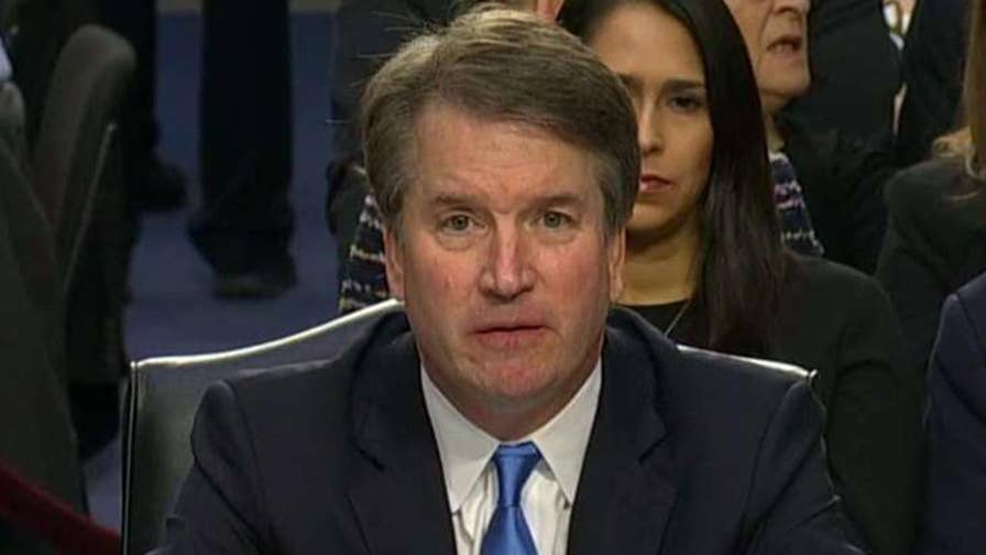 Senate Judiciary Committee Chairman Sen. Grassley questions Kavanaugh.