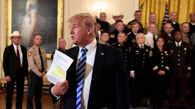 Sheriff: Trump has the back of law enforcement