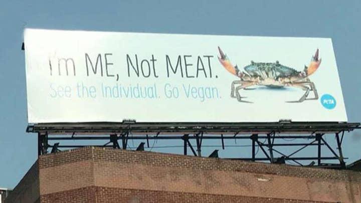 Maryland crab restaurant fires back to PETA billboard