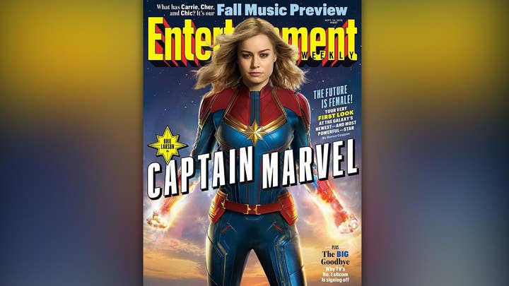 A first look at 'Captain Marvel'