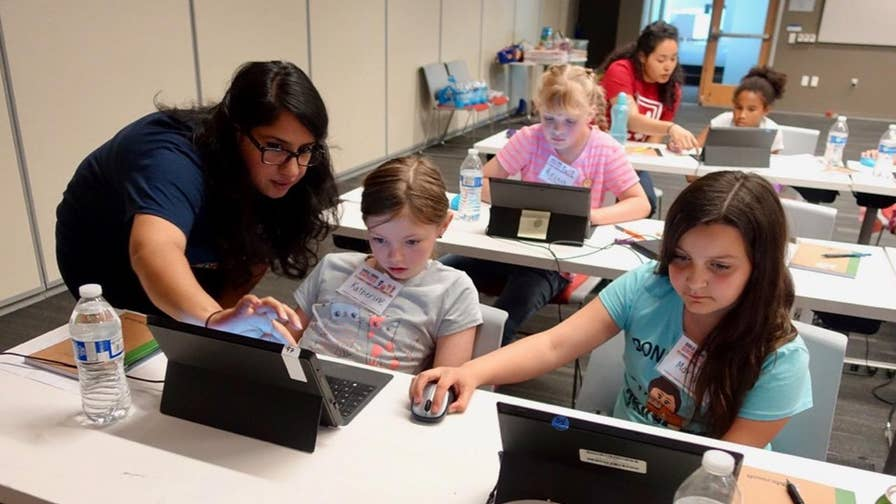 After growing up in the strict United Arab Emirates, Laila Shabir pushed past the confines of her society to create 'Girls Make Games,' a camp that teaches young girls to code and create their own video games. Her mission is to change the perception of gaming as a 'boys only' activity.