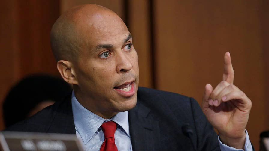 Democratic Senator Cory Booker opened Thursday's Supreme Court confirmation hearing for Judge Brett Kavanaugh with a pledge to risk expulsion from the Senate in exchange for releasing emails and documents not released for public consumption; Shannon Bream reports from Capitol Hill.