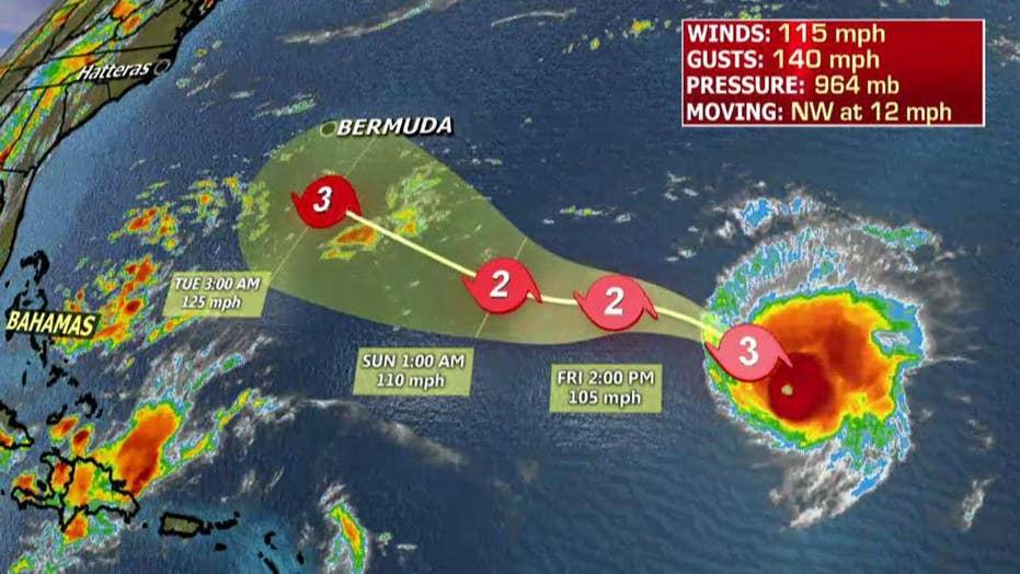 National forecast for Thursday, September 6