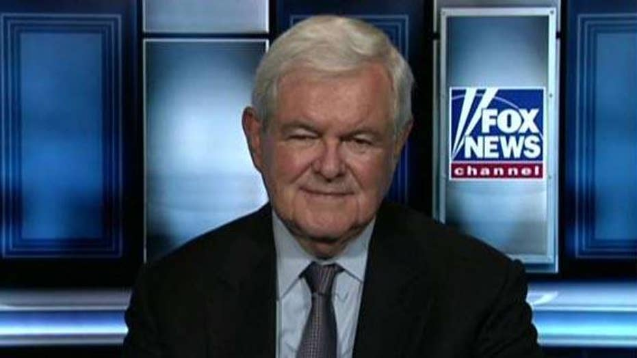 Gingrich: If Trump is incompetent, how is so much happening?