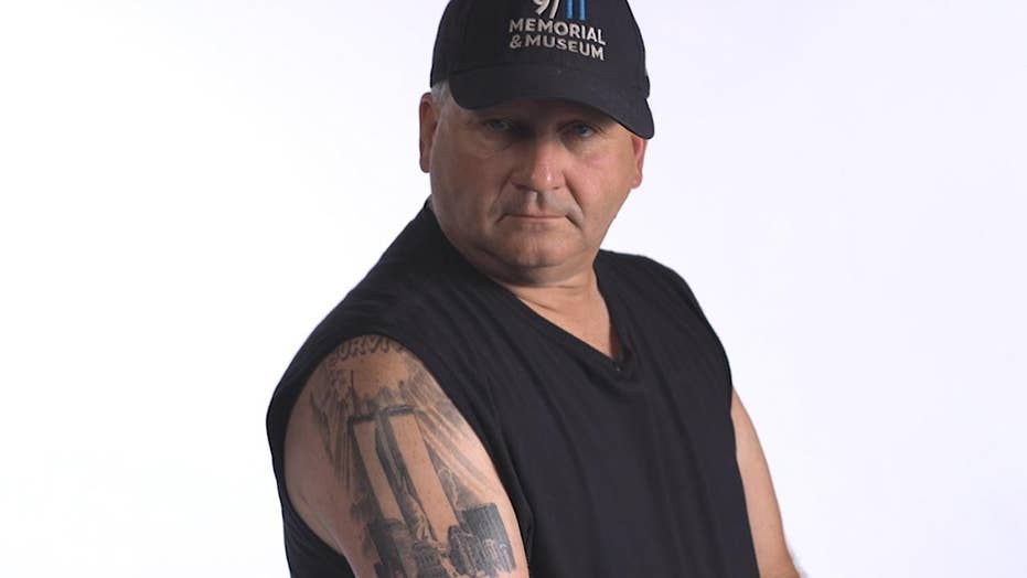 Tattoo helps 9/11 survivor's emotional wounds heal