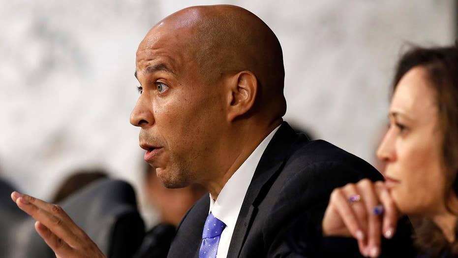 Sen. Booker vows to 'knowingly' violate Senate rules