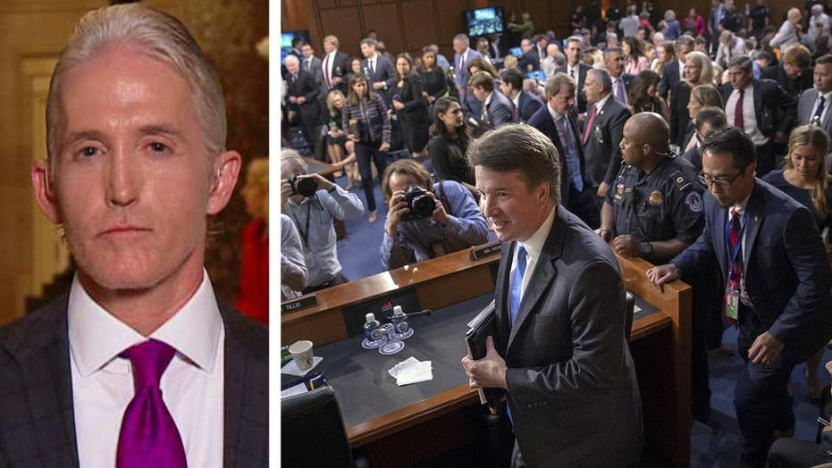 Rep. Trey Gowdy on Dems' behavior at Kavanaugh hearings