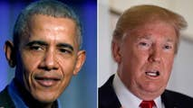 Former President Obama returns to the campaign trail in Illinois, unloading on the 'political darkness' of the GOP and his successor in the White House; President Trump says Obama's speech put him to sleep.