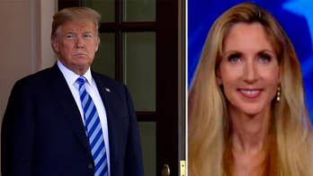 Coulter: Trump doesn't need Congress to build the wall