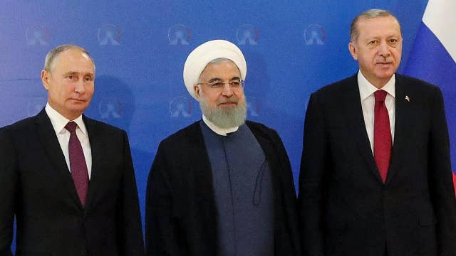 Iran, Turkey and Russia hold summit on Syria