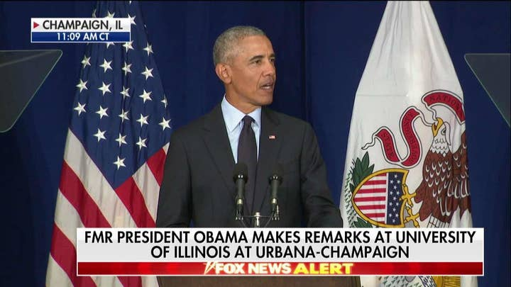 Obama Speaks to Students, Says Trump 'Capitalizing on Resentments'