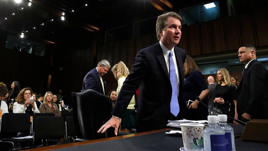 Brett Kavanaugh, President Trump's pick to replace Supreme Court Justice Kennedy, faced another round of questions from members of the Senate Judiciary Committee; insight and analysis from Alex Swoyer, Washington Times legal affairs reporter.