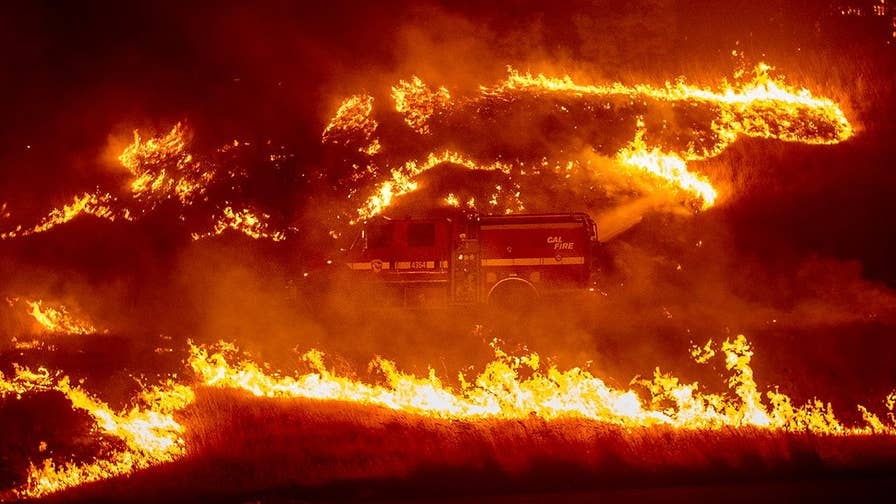 16 new fires are burning in northern California. William La Jeunesse has the story.