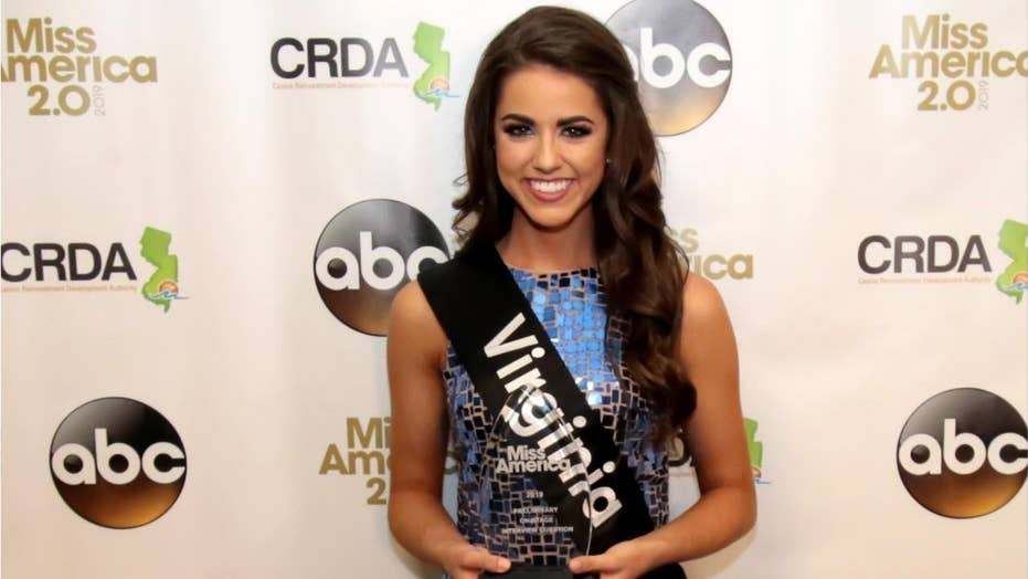 Miss America contestant Emili McPhail addresses NFL protests