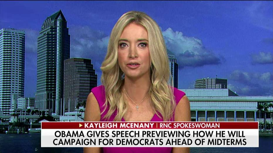 McEnany Blasts Obama's 'Load of Lies': His Admin Used 'Political Apparatuses to Target Individuals'