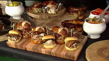 Chefs join 'Fox & Friends' for a tailgating party.