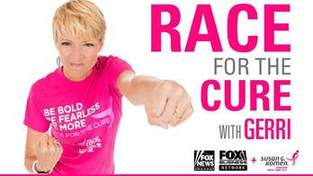 Fox News, Fox Business race for the cure with Gerri Willis