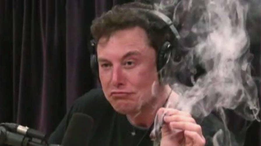 Tesla CEO Elon Musk smokes marijuana during his interview on Joe Rogan's podcast; Fox News contributor Gary Kaltbaum reacts.