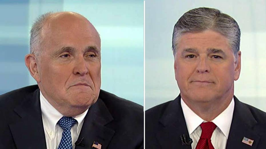 Giuliani on answering Mueller's questions, anonymous op-ed