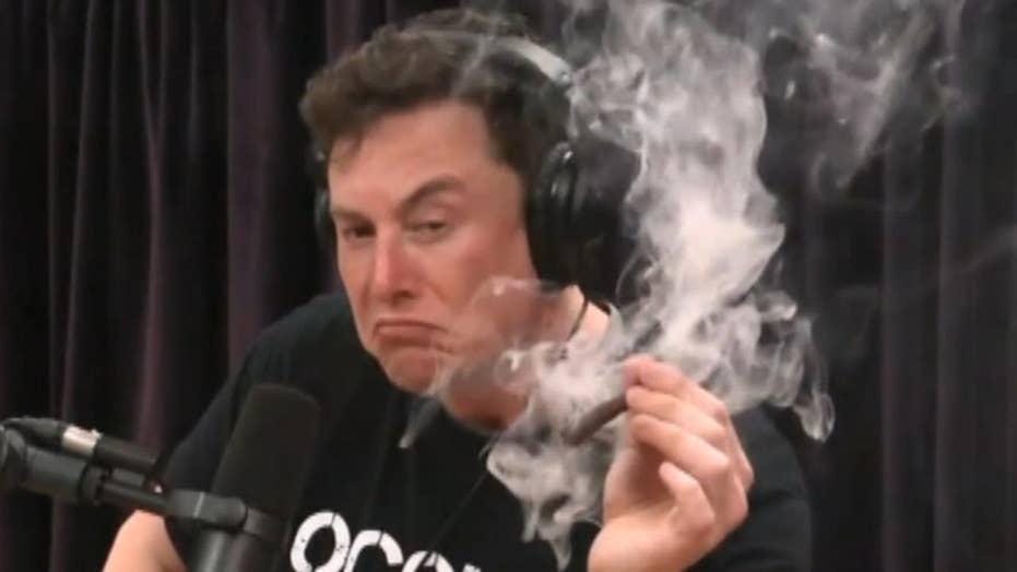 Elon Musk, Joe Rogan smoke marijuana during interview