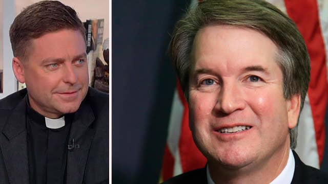 Father Morris on lack of civility in Kavanaugh hearings