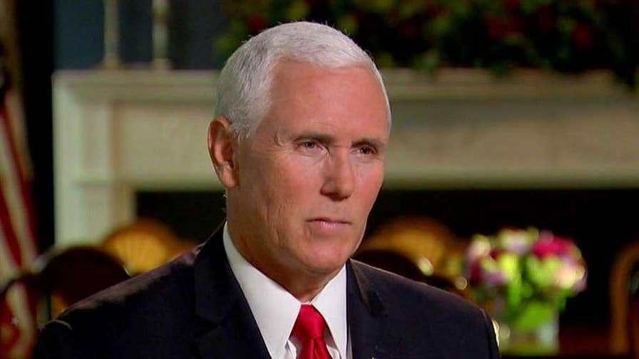 Vice President Mike Pence joins Chris Wallace on 'Fox News Sunday' to discuss the New York Times' decision to publish an op-ed by an unnamed 'senior official' in the Trump administration and Bob Woodward's portrayal of a White House in disarray.