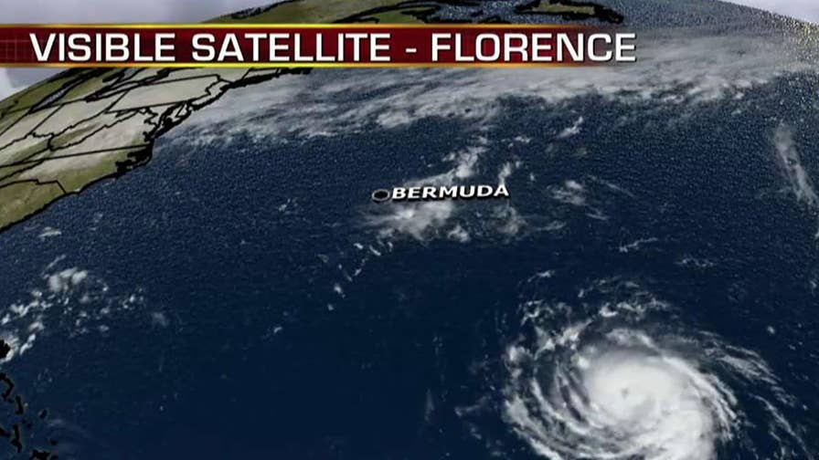 Florence expected to rapidly gain power as it approaches the United States.