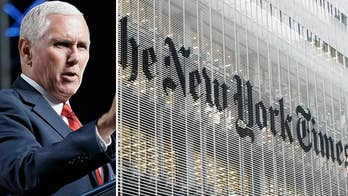 Pence slams 'un-American' anonymous New York Times op-ed as Trump calls for Sessions to investigate its author.