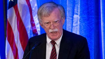 Raw video: National Security Adviser John Bolton says the Trump administration will not keep the Palestine Liberation Organization's office open when the 'Palestinians refuse to take steps to start direct and meaningful negotiations with Israel.'